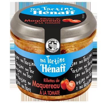 Rillettes de maquereau à la tomate