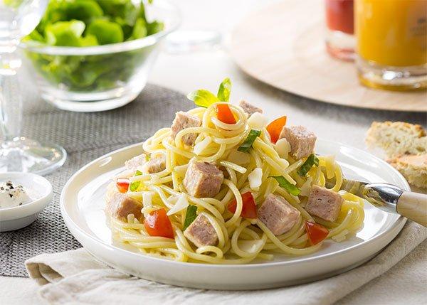 Les spaghettis à la Bretonne