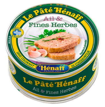 Hénaff Pork Pâté with Garlic and Herbs
