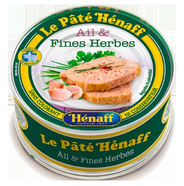 Le Pâté Hénaff ail et fines herbes