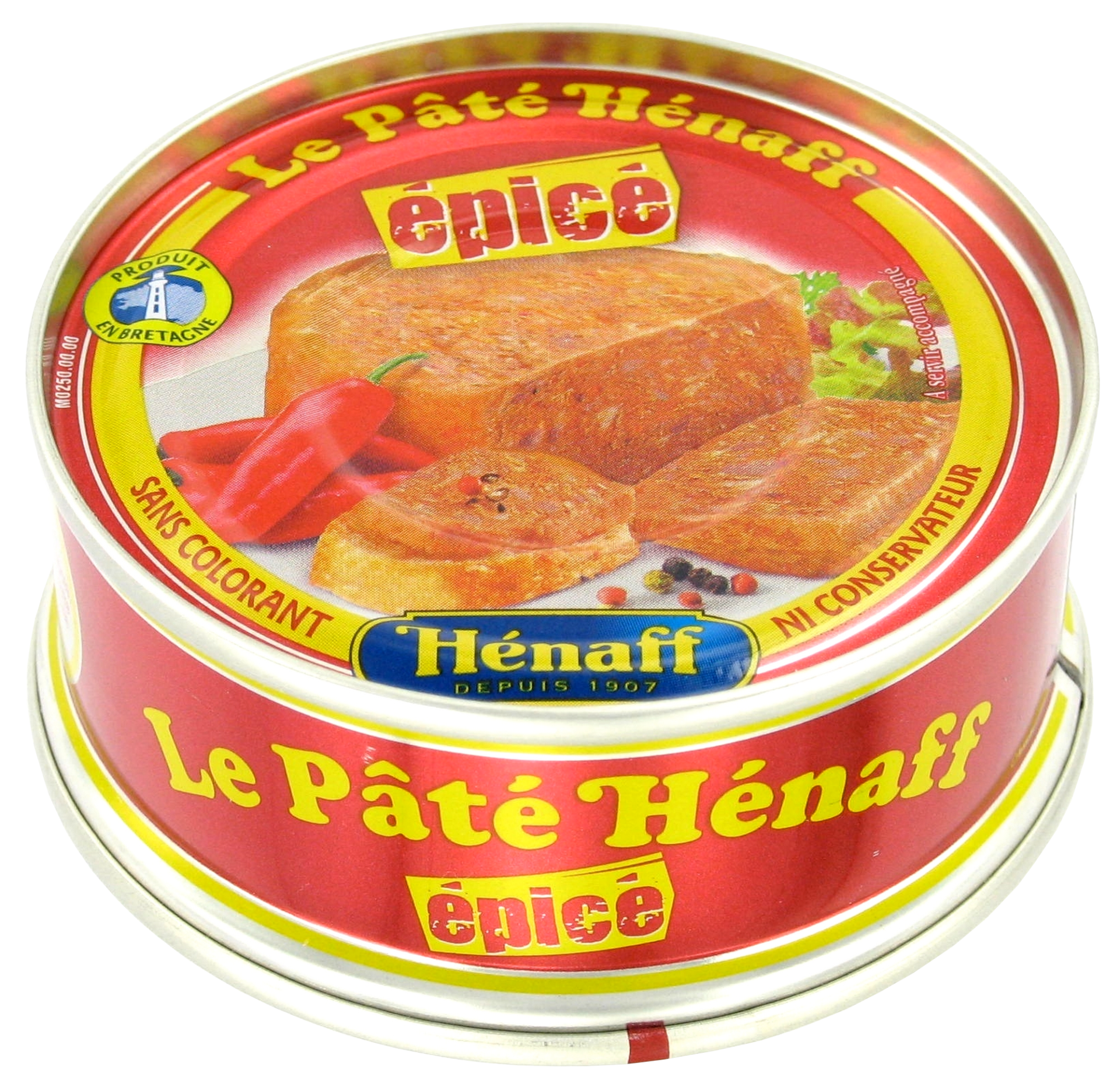 Spicy Hénaff Pork Pâté