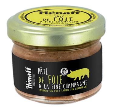 Le Pâté de foie à la fine champagne