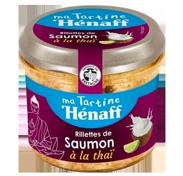 Salmon Rillettes Thai-flavoured