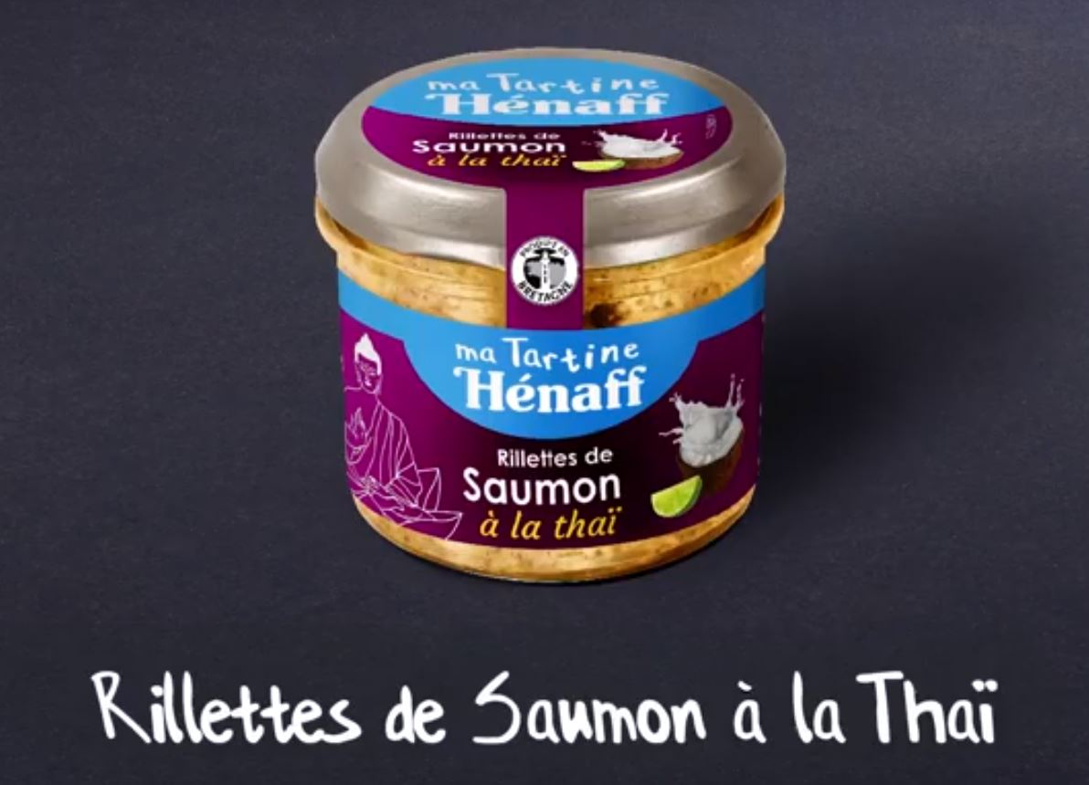 Rillettes de saumon à la thai