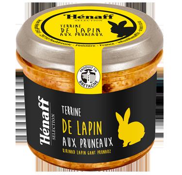 Rabbit Terrine with Prunes