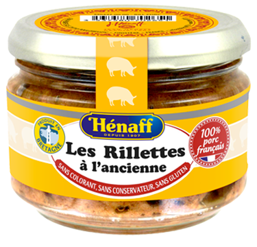 Traditional rillettes