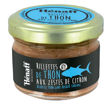 Tuna Rillettes with Lemon peels