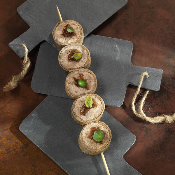 La fameuse galette saucisse revisitée au Pâté Hénaff