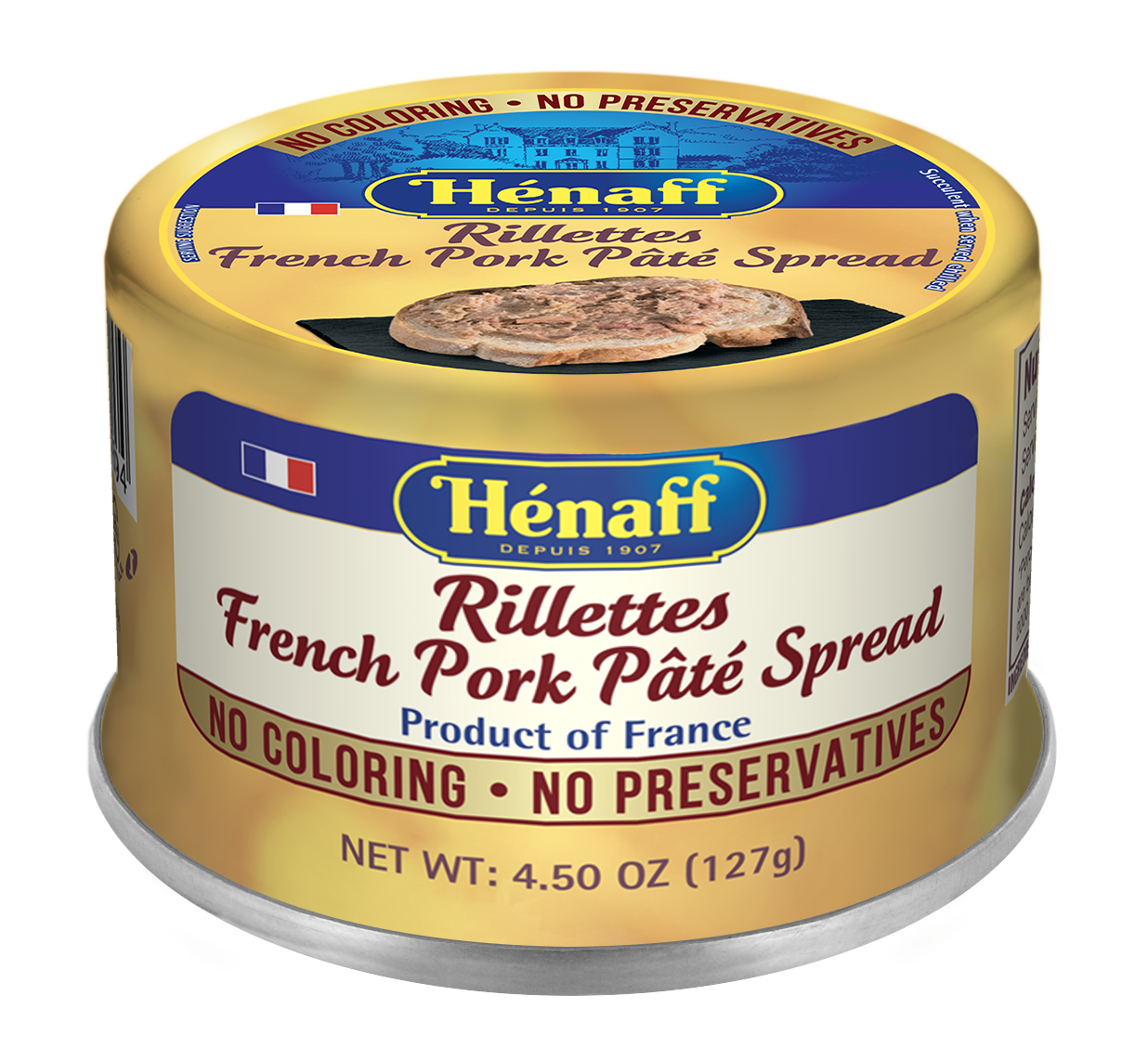 Rillettes French Pork Pâté Spread