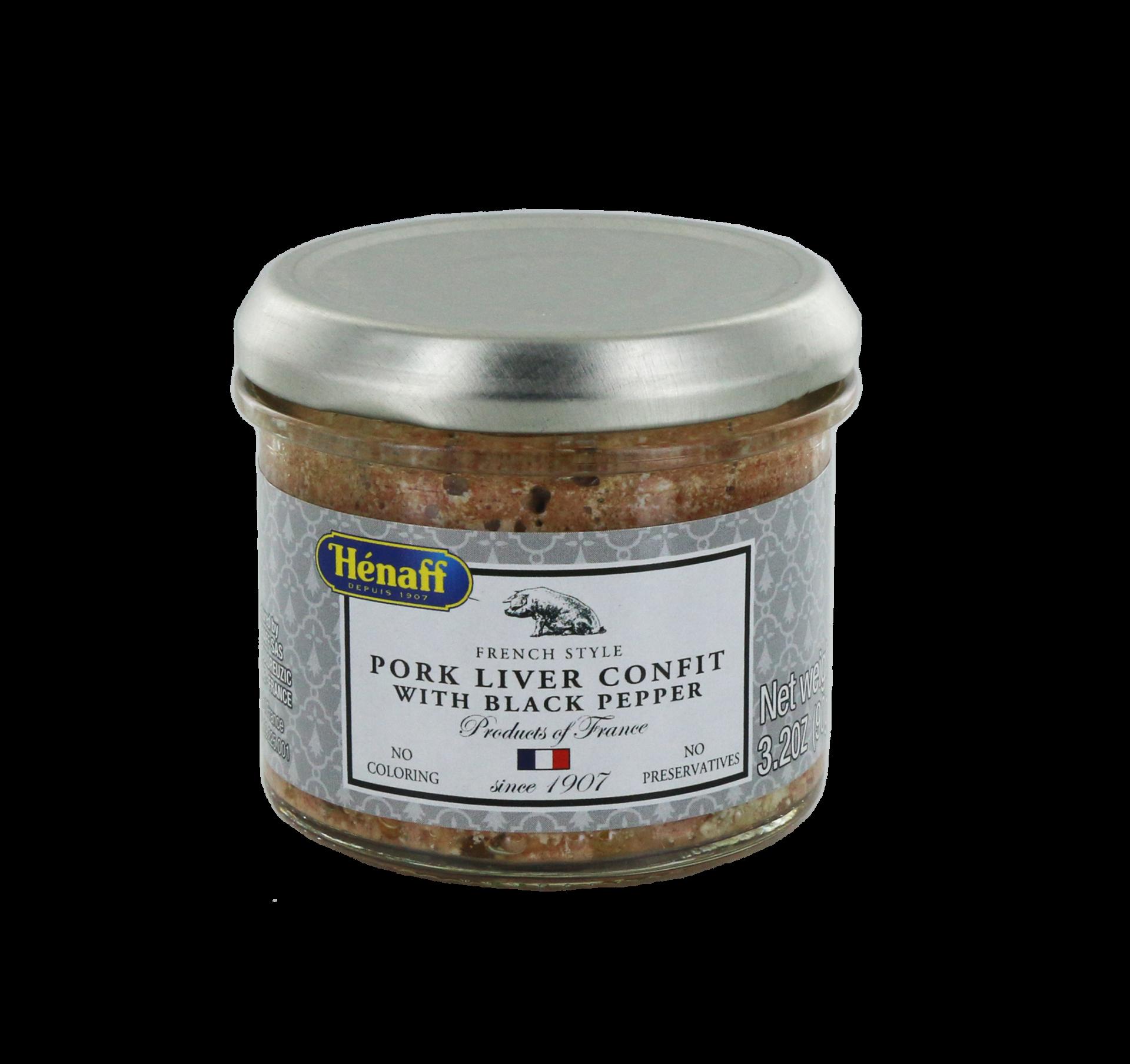 Pork Liver Confit with black Pepper