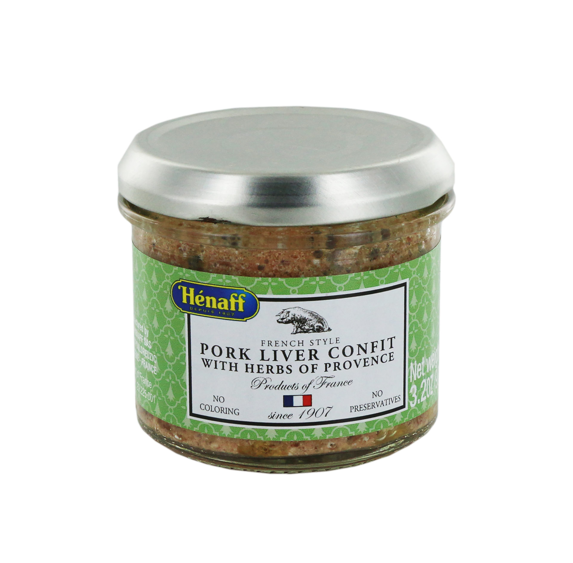 Pork liver Confit with Herbs of Provence