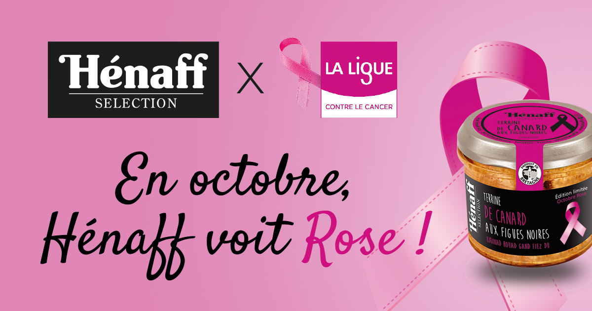 Octobre Rose Hénaff