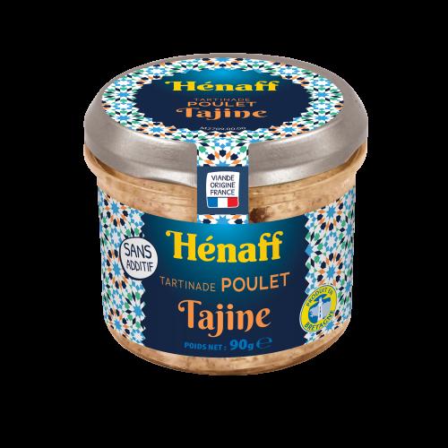 Tartinade Poulet Tajine