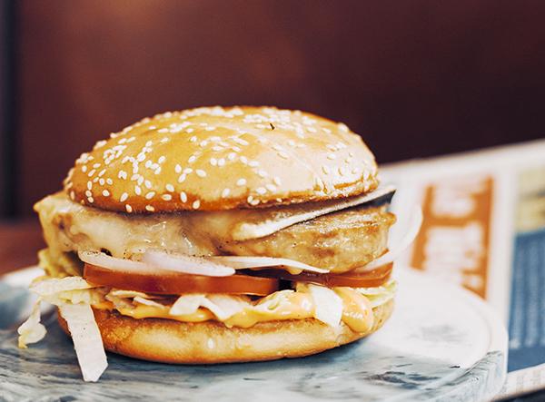 Le Burger au Pâté Hénaff